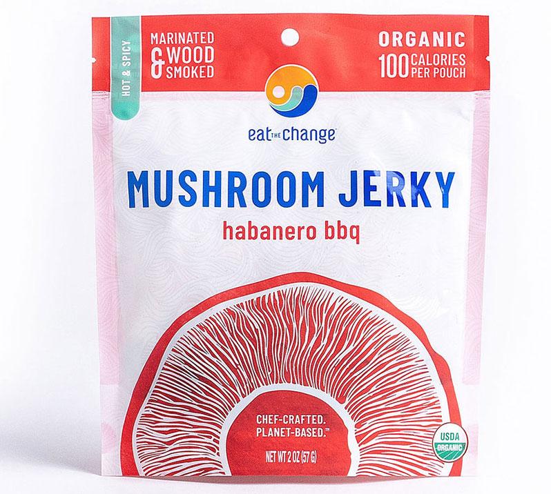 Habanero BBQ Mushroom Jerky