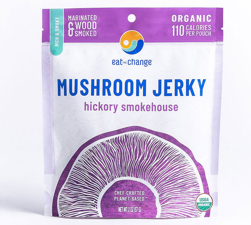 Hickory Smokehouse Mushroom Jerky