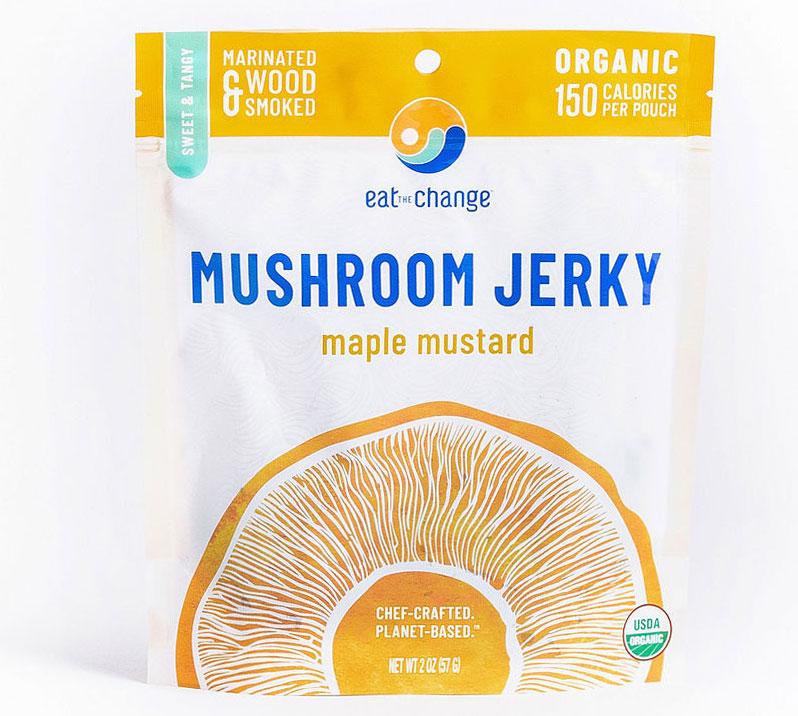 Maple Mustard Mushroom Jerky