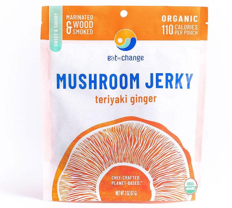 Teriyaki Ginger Mushroom Jerky